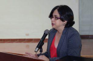 Maricécili Mora, coordinadora de la Maestría en Psicología Clínica y de la Salud.