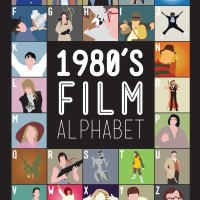 1980s Film Alphabet:  Art & Design from Stephen Wildish.