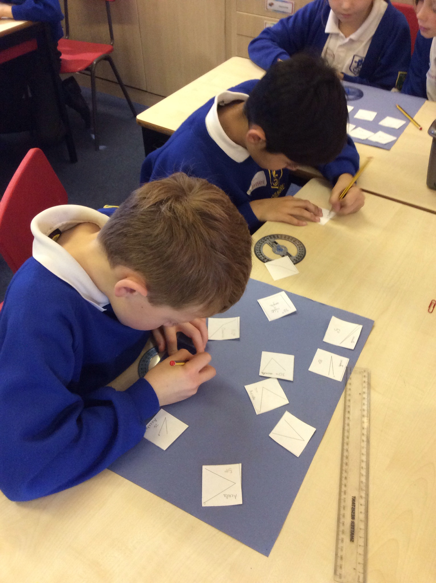 Angles Work In Year 4