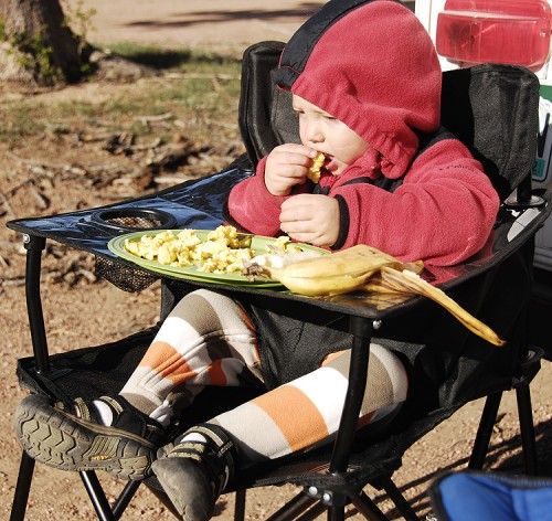 Foldup Camping Baby Gear Review