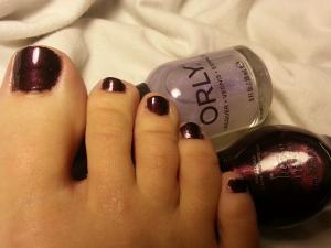 Chocolate Toes
