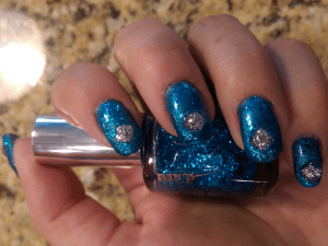 Overglitter Blue