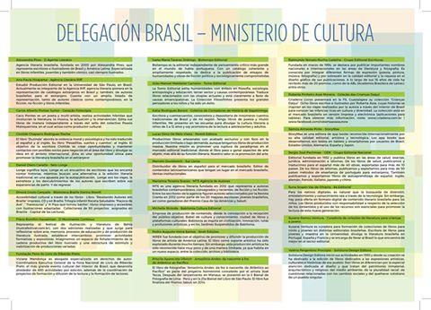 [Foto 1: Delegação brasileira do MinC]