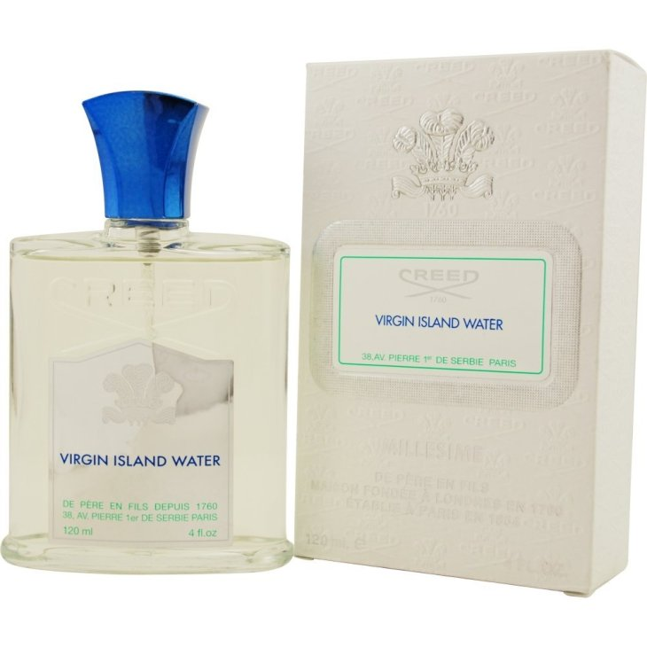 The Best Creed Cologne Virgin Island Water