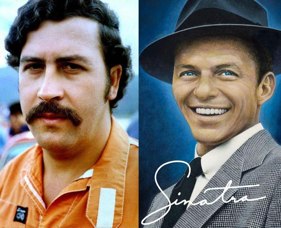 """Zoon Pablo Escobar: """"Frank Sinatra en mijn vader waren zakenpartners"""""""