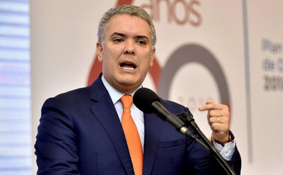President Duque zegt dat de uren van Venezolaanse president Maduro zijn geteld