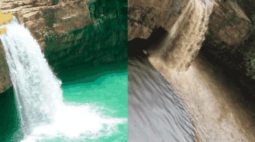 Toeristische trekpleister Pozo Azul zwaar vervuild