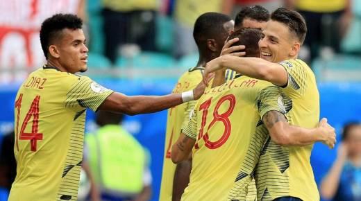 Colombia wint ook derde groepsduel op Copa América