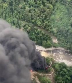 Trasandino oliepijpleiding opgeblazen in Putumayo