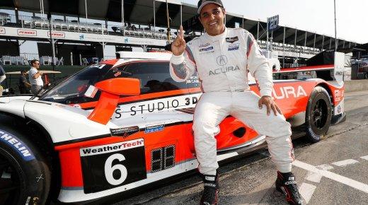 Juan Pablo Montoya wint IMSA-kampioenschap