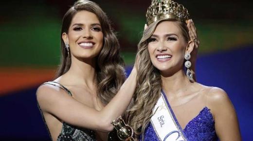 Maria Fernanda Aristizábal is de nieuwe Miss Colombia 2020