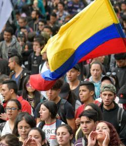 'Bogotá en andere steden zullen niet worden gemilitariseerd vanwege de staking'