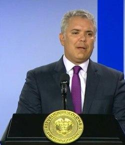 Iván Duque roept VN op om vredesmissie te verlengen.