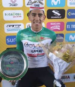 Molano pakt tweede etappewinst in Tour Colombia 2.1
