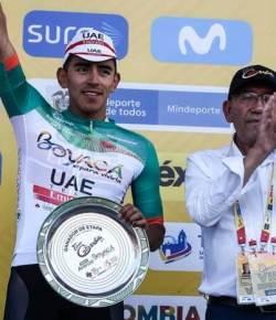 Juan Sebastian Molano wint vijfde rit van Tour Colombia 2.1