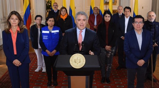 Colombia stelt verplichte quarantaine in