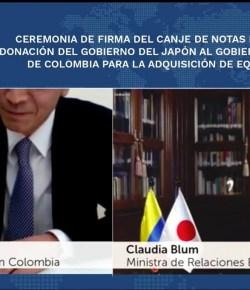Japan heeft 4,7 miljoen dollar gedoneerd aan Colombia voor de strijd tegen COVID-19