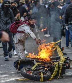 ELN erkent zijn deelname aan de protesten tegen de Colombiaanse politie