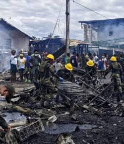 Twee doden en 250 daklozen door brand in Chocó