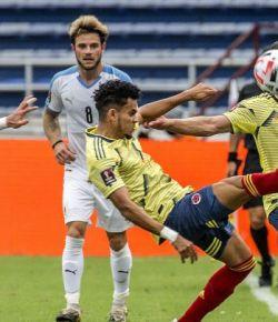 Uruguay verslaat Colombia in kwalificatiewedstrijd