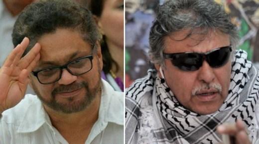 Twitter en YouTube blokkeren accounts van voormalige FARC-leiders