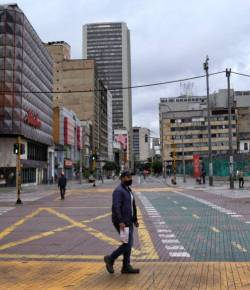 Bogotá verlengt avondklok om het coronavirus te beteugelen