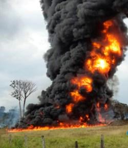 Aanslag op oliepijpleiding Caño Limón-Coveñas