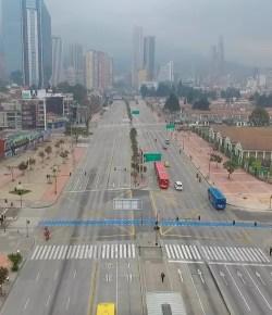 Bogotá voor de tweede keer een weekend in quarantaine