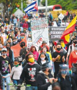 Sinds 28 april 42 doden door protesten