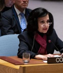 Minister van Buitenlandse Zaken Claudia Blum treedt af