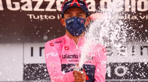Egan Bernal winnaar Giro d'Italia 2021!