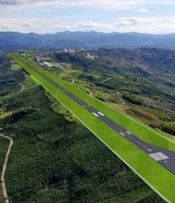 Caldas bouwt nieuw vliegveld