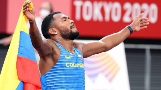 Anthony Zambrano wint zilver op de 400 meter in Tokyo
