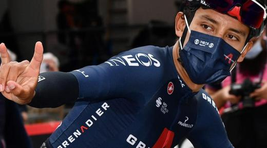 Vijf Colombianen van start in Vuelta a España 2021