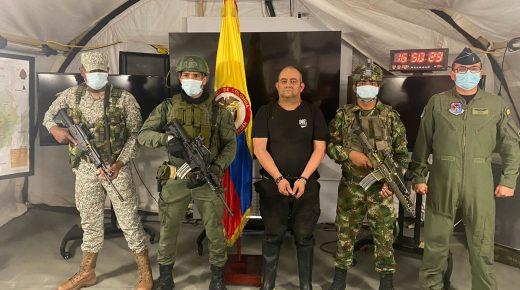 Grootste drugsbaron van Colombia opgepakt