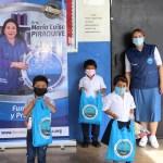 Entrega de kits escolares en Chiriquí 2021
