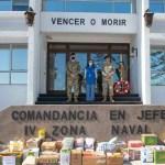 Alianza estratégica con la IV Zona Naval de Iquique y La Fundación Internacional María Luisa de Moreno en Chile