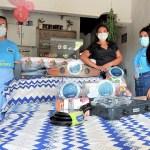 Entrega de ayudas a damnificados por inundaciones en Carmen de Bolívar, 2021