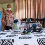 Entrega de ayudas a Daneila Leiva, damnificados por inundaciones en Carmen de Bolívar, 2021