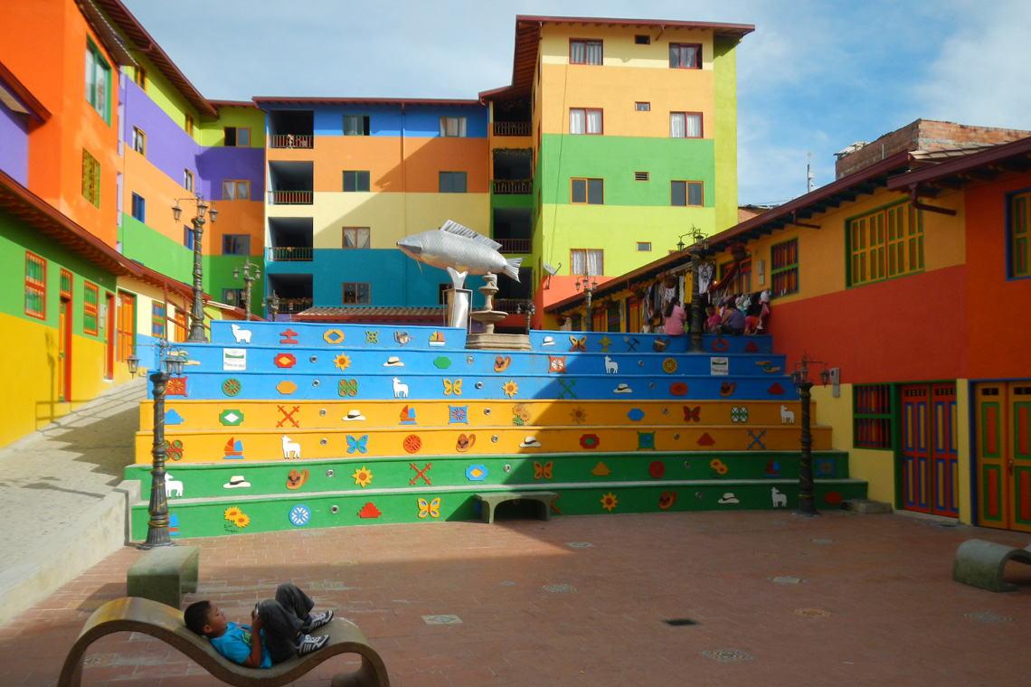 Kleurrijk Guatapé