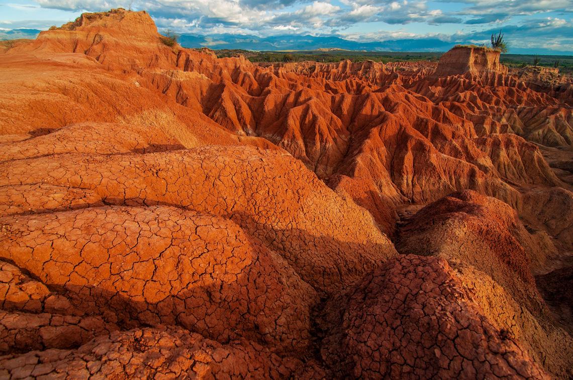 Tatacoa woestijn in Colombia
