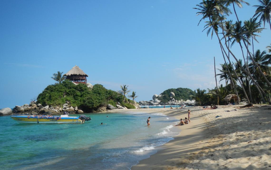 Tayrona Colombia stranden