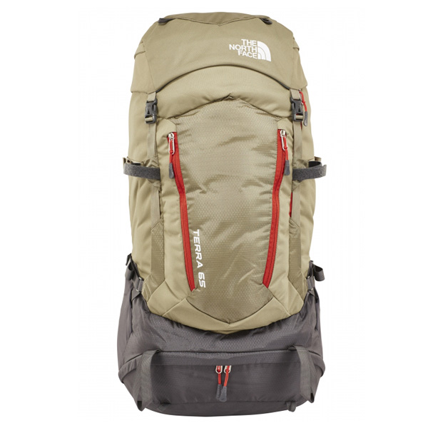 The North Face rugzak lichtbruin