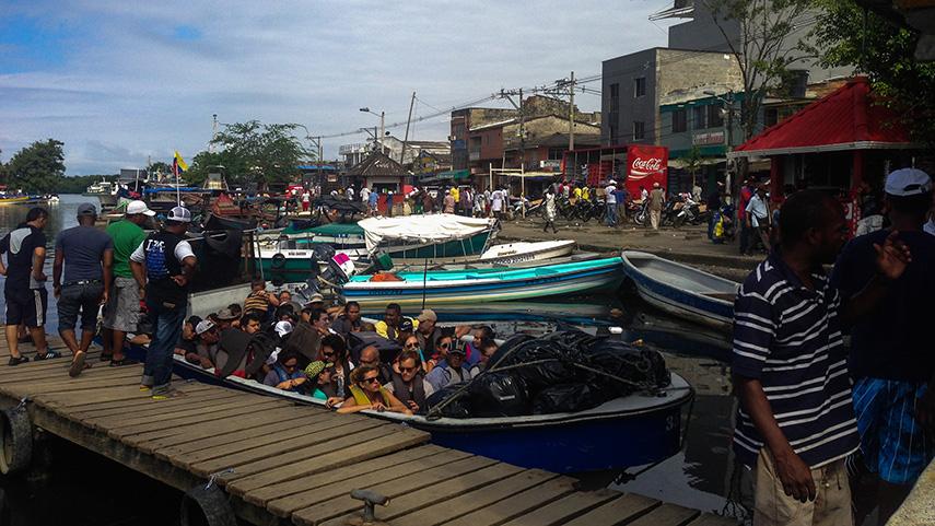 Bootjes Turbo Colombia naar Panama
