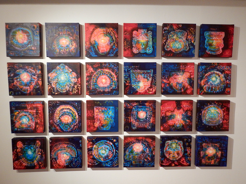 Kunstwerk in Bogotá