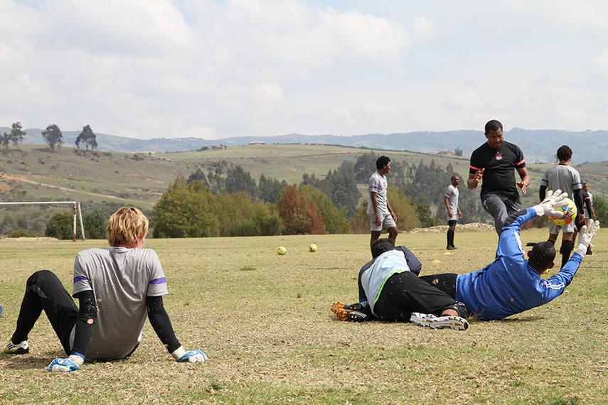 Voetballen in Colombia