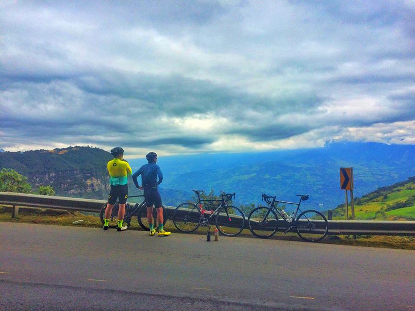 Fietsen in Colombia