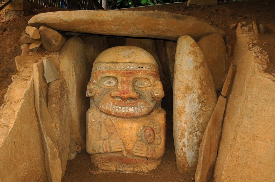 San Agustín archeologisch park