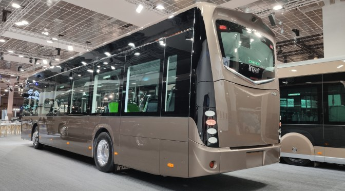 IRIZAR IEBUS AWARDED AS 2021 BUS OF THE YEAR  IN SPAIN