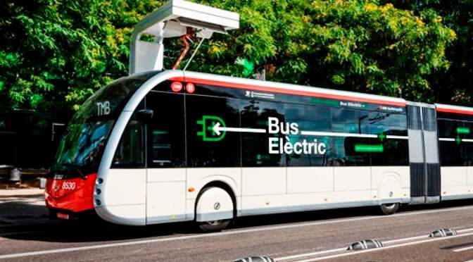 TMB BARCELONA BEGINS A BID TO ACQUIRE 210 HYBRID AND ELECTRIC BUSES